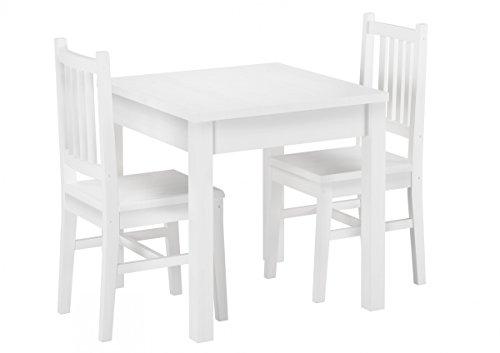 9070-52-W-Set-Schne-Essgruppe-mit-Tisch-und-2-Sthle-Kiefer-Massivholz