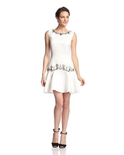 Marchesa Notte Women's Embellished Drop-Waist Dress