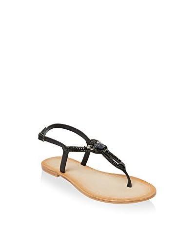 UMA Sandale Luz schwarz