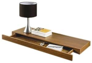 chunky floating shelf with drawer old version. Black Bedroom Furniture Sets. Home Design Ideas