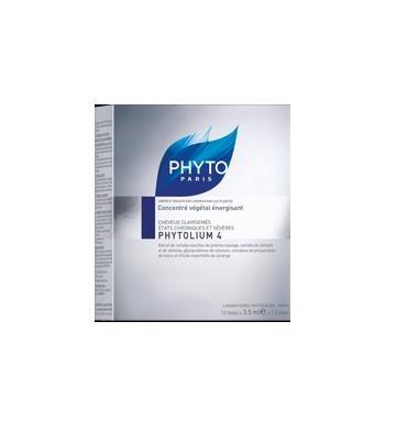 Phyto Phytolium 4 Thinning Hair Treatment 12 Vials (Qunatity Of 1)