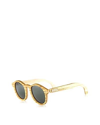 Feler Sunglasses Occhiali da sole Forest Zebrano (46 mm) Beige/Marrone
