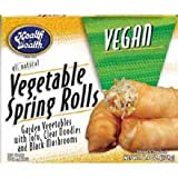 Health is Wealth Vegan Vegetable Spring Roll, 6.4 Ounce -- 12 per case.