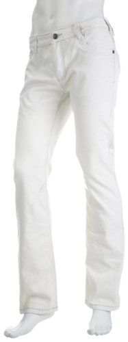 Two Angle Mertz Bleach Straight Men's Jeans X-Large