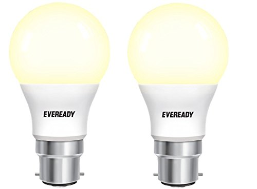 Eveready 9W B22 810L LED Bulb (Yellow, Pack Of 2)