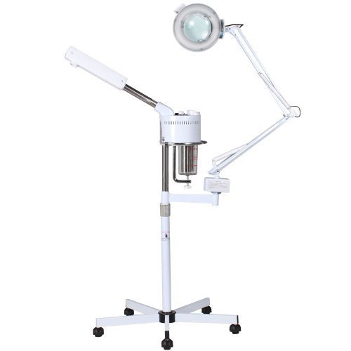 2 in 1 Ozone Salon Spa Facial Steamer & Mag Lamp by BR Beauty (2 In 1 Steamer And Mag Lamp compare prices)