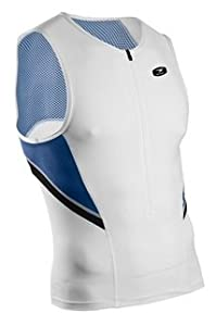 Sugoi Men's RPM Tri Tank, White, X-Large