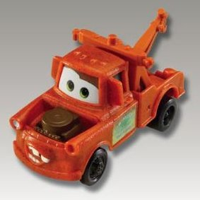 2006 McDonalds Happy Meal Toy Disney Pixar Film Cars #2 Mater the Car