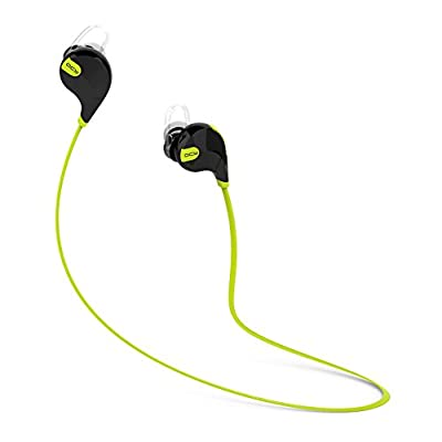 Intcrown QCY QY7 Mini Lightweight Wireless Stereo Sports/running & Gym/exercise Bluetooth Earbuds Headphones Headsets W/microphone for iPhone 6 5 4 , for iPad 2 3 4 New iPad, for iPod, for Android, for Samsung Galaxy, for Smart Phones Bluetooth Devices,En