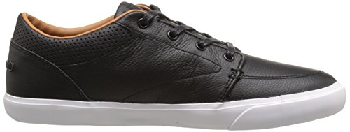 Lacoste Men's Bayliss Vulc Prm Casual Shoe Fashion Sneaker, black/black, 11 M US