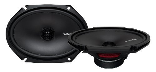 Rockford R168X2 Prime 6 x 8 Inches Full Range Coaxial Speaker, Set of ...