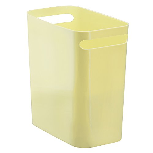 InterDesign Una Can, 12-Inch, Lemon
