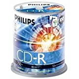 Philips - Spindle 100 CD-R 700 Mo 80 mins 52x - 908210002426par Philips