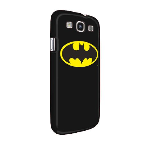 Fruwt SHP-SG3-BM1 Batman Logo Case for Samsung Galaxy S III - 1 Pack - Retail Packaging - Black at Gotham City Store