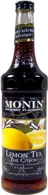 Monin Syrups Lemon Tea Concentrate Syrup, 750 Ml Botttle