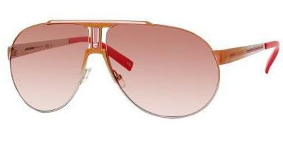 Authentic Carrera Sunglasses PANAMERIKA 1 SHINY CORAL SMOKE ROSE SMOKE MIRROR LENS KYAF5