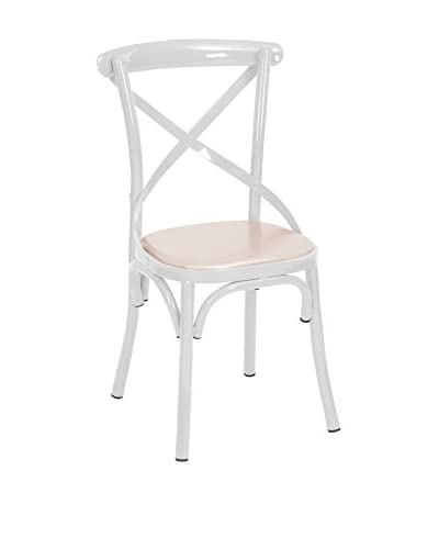 LO+DEMODA Set Sedia 2 Pz. Bistrot White Thonet bianco