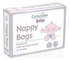 Disposable Nappy Bags, 200 bags - fragranced