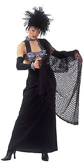 Rubie's Halloween Costume Woman's Savoir Faire Lady of the Arena Gothic, Adult Size