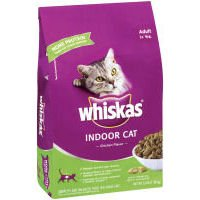 See Whiskas Dry Cat Food for Indoor Cats 3lb