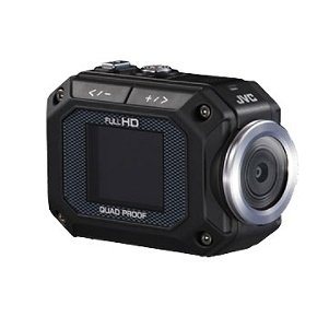 JVC GC-XA1 Adixxion HD Action Video Camera with 1.5-Inch LCD - Black
