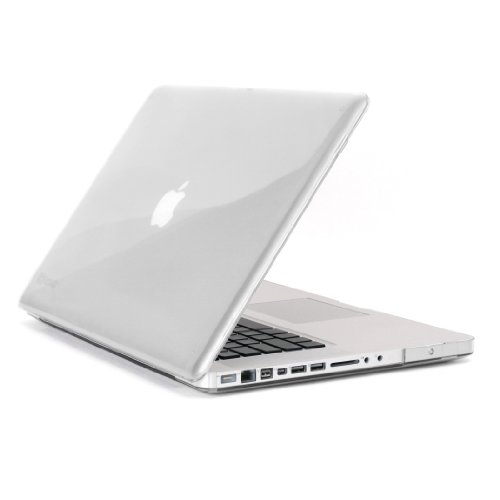 Speck Products See Thru Hard Shell Case for MacBook Pro 13-Inch Aluminum Unibody Only, Clear (SPK-A0445) Image