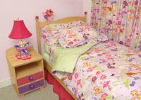 Room Magic Twin Comforter/Bedskirt/Sham Set, Garden