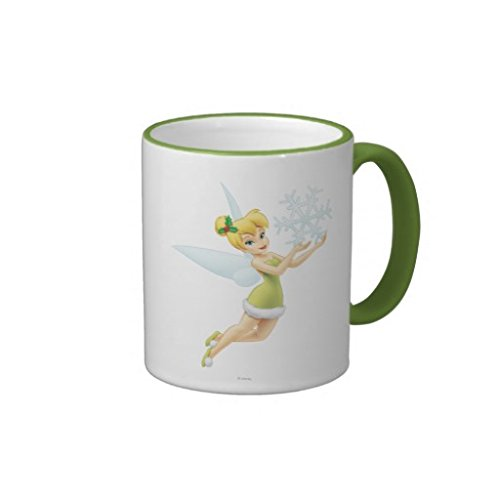 Tinker Bell With Snowflake Mugs