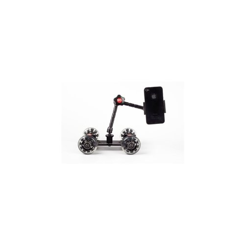 Pico Flex Dolly ONLY Digital Dslr Skater Camera Dolly Slider Table Top Dolly Kit By Photography and Cinema