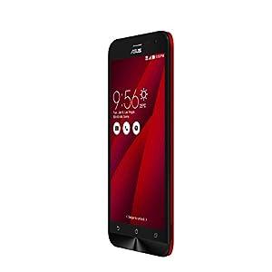 Asus Zenfone Laser ZE500KL smartphone débloqué 4G (Ecran : 5 pouces - 8 Go - 2 Go RAM - Double SIM - Android Lollipop 5.0) Rouge