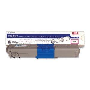 Oki 44469702 Toner Cartridge. Magenta Toner Cart Type C17 For For C330/C530/Mc361/Mc561 3K Yield L-Supl. Magenta - Led - 3000 Page