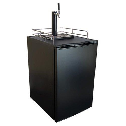 Review Keggermeister KM2800BK Kegerator Full-Size Single-Tap Beer Refrigerator and Dispenser, Black