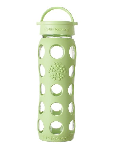 Lifefactory 22-Ounce Beverage Bottle, Green