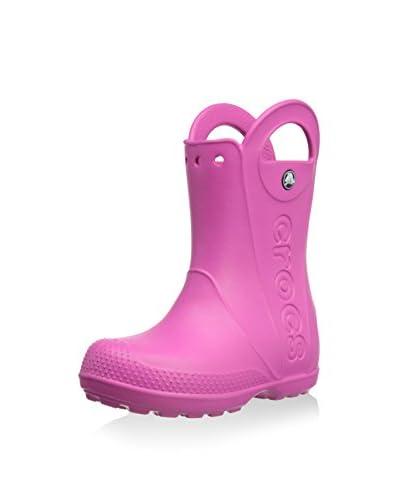 Crocs Botas  Handle It Rain Boot K Rosa (Fuchsia 670)