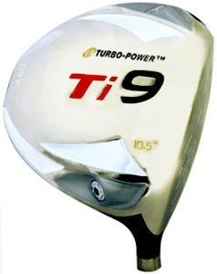 Turbo Power Ti9 Titanium Driver 10.5º Graphite Shafted