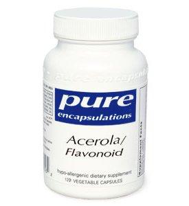 Pure Encapsulations - Acerola/Flavonoid 120 Vcaps