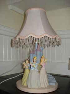 Disney 3 Princesses Castle Table Lamp By HamptonBay   Hampton Bay Lamp .