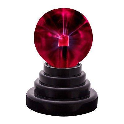 Mini Usb Glass Plasma Ball Sphere Lightning Light Lamp