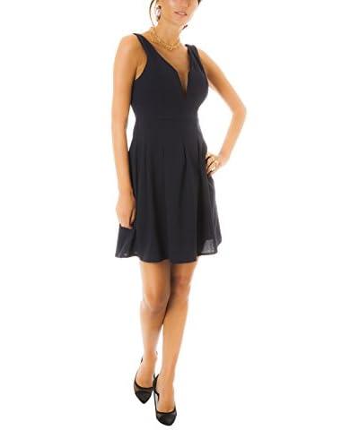 Negro Parisienne Vestido Isma