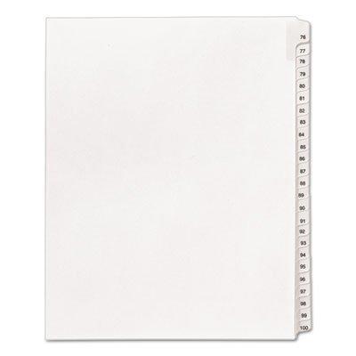 allstate-style-legal-side-tab-dividers-25-tab-76-100-letter-white-25-set-by-averyaaaar