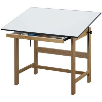 TITAN WOOD TABLE 31x42x37 Drafting, Engineering, Art (General Catalog)