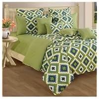 Swayam Shades N More Printed Cotton Single AC Comforter - Beige (ACS 11-1408)