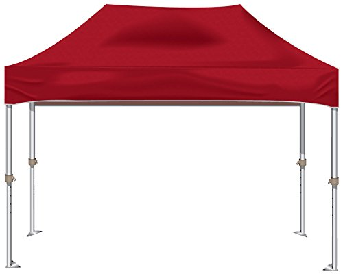 Kd Kanopy Xtf150R Xtf Aluminum Frame Indoor/Outdoor Portable Canopy, 10 By 15-Feet, Red