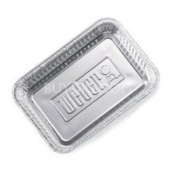 Best Review Of Weber 6415 Small 8-1/2-Inch-by-6-inch Aluminum Drip Pans - Set of 10