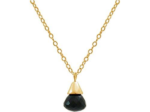 gemshine-collar-colgante-chapado-en-oro-de-18k-onyx-gota-negro-15-cm