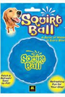 Multi Pet Squirt Ball Vinyl Dog Toy Assorted Colors