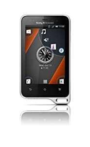 Sony Ericsson Xperia Active Sim Free Mobile Phone and LiveView remote screen - Black