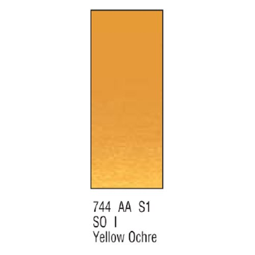 Winsor newton & artists-aquarelle : 5 ml ocre jaune