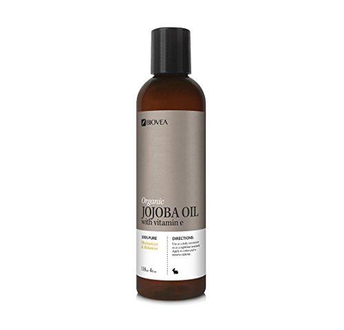 BIOVEA Skincare JOJOBA OIL (Organic) (4oz) 118ml