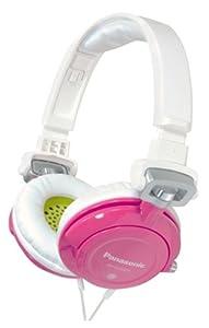 Panasonic RP-DJS400-Z DJ Street Model Headphones (White/Pink)